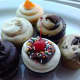 Some of the cupcake choices at Sugar Rush Cupcakes in Wallkill.