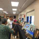 Mayor Thomas Calabrese visited the Cliffside Park Housing Authority Senior Art Show.