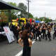 Dancers perform at the Unico Street Fair in Saddle Brook.