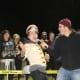 Ossining High School band performed at Saturday Night Lights.