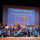 Peekskill Middle School observed Blue Shirt Day Oct. 5.