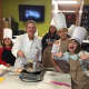 Kids learn healthier recipes for their favorite foods at Weight Wellness Center in Lyndhurst.