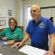 Irma Rutkowski and Rich Brown of Ridgefield Park's CERT Team.