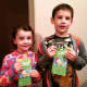 Katz' patients collect their Toys R Us gift card after donating candy to the Candy Buy Back program.