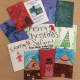 Kids from Bergen YWCA wrote holiday greeting for a girl who lost her family in a fire.