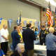Bergen County Clerk John Hogan was in Fort Lee on March 25 to attend the Hellenic Civic Club's flag raising ceremony.