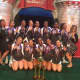 New Rochelle High School Varsity Cheerleaders earned the third place bronze medal in a 56-team small varsity division competition at the National High School Cheerleading Championship.