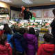Students from Ridgewood Montessori Learning Center visit the seafood section of Kings.