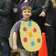 Peyton Riordan as a cookie in Emerson schools' vocabulary parade Friday.