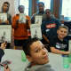 Isaac E. Young Middle School listened to a talk from author Kevin Powell.