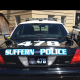 The Suffern Police Department has redesigned the lettering on its cruisers.