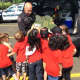 Members from the Suffern Police Department showed students from the YMCA Wise Beginnings Program how the Police Department operates.