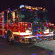 Hawleyville Volunteer Fire Department lights up Newtown with its holiday light show.