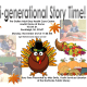 Flyer for Multigenerational Story Time