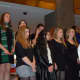 Eastchester High School students performed a holiday concert in the MetLife building on Dec. 17.