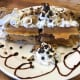 Nutella-stuffed chocolate chip cookie waffle from Benny's in Fair Lawn.