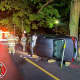 Driver Freed From Overturned Car In West Chester