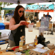 Jennifer Balin from Sugar and Olives at the Westport Farmers' Market.