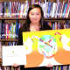 Noelle Kim, a seventh grader from the Ramapo Ridge Middle School in Mahwah, was one of the winners of the local contest.
