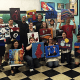 These folks attended a 2015 painting party at the Artistic Giraffe.
