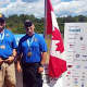 Sgt. Sal Matos and Officer Mike Anton participated in this year's Can-Am Police-Fire Games.