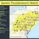 Severe Thunderstorm Watch In Effect, With 60 MPH-Plus Wind Gusts Expected, Tornadoes Possible