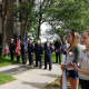 """New Rochelle remembered William """"Bill"""" Moye at a special tree dedication ceremony."""