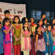 Kapur's students perform.