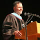 Dutchess County Executive Marc Molinaro speaks at Thursday's commencement ceremony for Dutchess Community College graduates.
