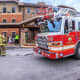 Members of the Beacon Fire and Police Departments helped evacuate a senior housing building.