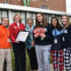 Students at The Ursuline School in New Rochelle donated more than 700 pairs of pajamas and 100 books to children in homeless shelters in Westchester.