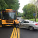Monsey School Bus Crash Injures One, Closes Part Of Route 306