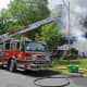 Firefighters battle a large fire at a Monsey home.