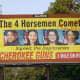 A gun shop billboard mocking New York Congresswoman Alexandria Ocasio-Cortez drew a firestorm from New York and area residents.