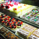 A wide array of sweets is available in the bakery cases.