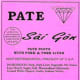 "15-oz. and 30-oz., poly casing packages of fully cooked ""PATÉ Sài gòn, PATE PASTE WITH PORK & PORK LIVER."" The product includes ""KEEP REFRIGERATED"" on the label."