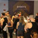 "Members of the Barry's Bootcamp ""community"" line up for exercise classes that promise to burn off 1,000 calories in one session. The fitness chain, beloved by celebs and other A-listers, opened a studio in Scarsdale on Saturday, Dec. 17."