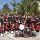 The Bergen County Firefighters Pipe Band will perform toward the tail end of Bergenfield's Family Fun Day.
