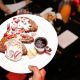 The French toast is smothered in whipped cream and strawberries at Bottagra's adults-only, once-a-month brunch in Hawthorne.