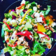 """Chappaqua Station's colorful """"Chappy"""" salad especially caught the attention of New York Times restaurant reviewer M.H. Reed."""