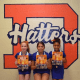 Kiera McCarthy, Emily Bustelo, and Ella Brown, the three Junior Hatters who earned All-Star status after tryouts in August, look forward to marching with other All-Americans in the 97th annual Thanksgiving Day Parade in Philadelphia.