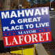 Mahwah's incumbent mayor won reelection by less than 100 votes.