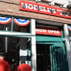 Modell's Sporting Goods held a grand opening for its new store in Mount Kisco, which used to house Borders Books and Music.