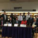 A panel of local leaders and student presenters took part in the recent #DemocracyIsNotASpectatorSport civics forum at New Rochelle High School.