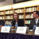 New Rochelle Mayor Noam Bramson and Dr. Clair Kramer Mills, assistant vice president of the Federal Reserve Bank of New York, were among local leaders on the forum's panel.