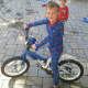 """""""He woke up and immediately went out to ride the bike,"""" said Finn's mother, Susan Davis McNair"""