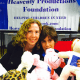 Members of the Heavenly Productions Foundation recently spent hours making Teddy Bears for sick children.