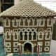 Gingerbread house competition at Simsbury Free Library