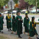 Hastings High School graduates get ready for the ceremony.