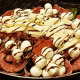 Here is Villa Pizza's Italian antipasto -- listed under the salads.